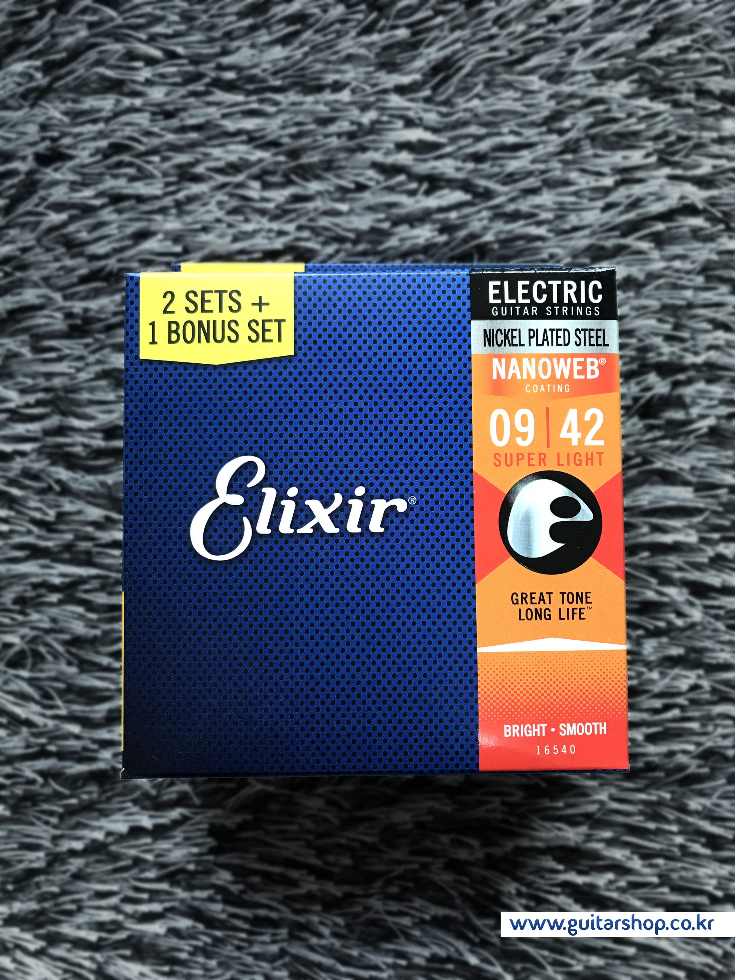 ELIXIR ELECTRIC NANOWEB SUPER LIGHT (009-042) - 3PACK