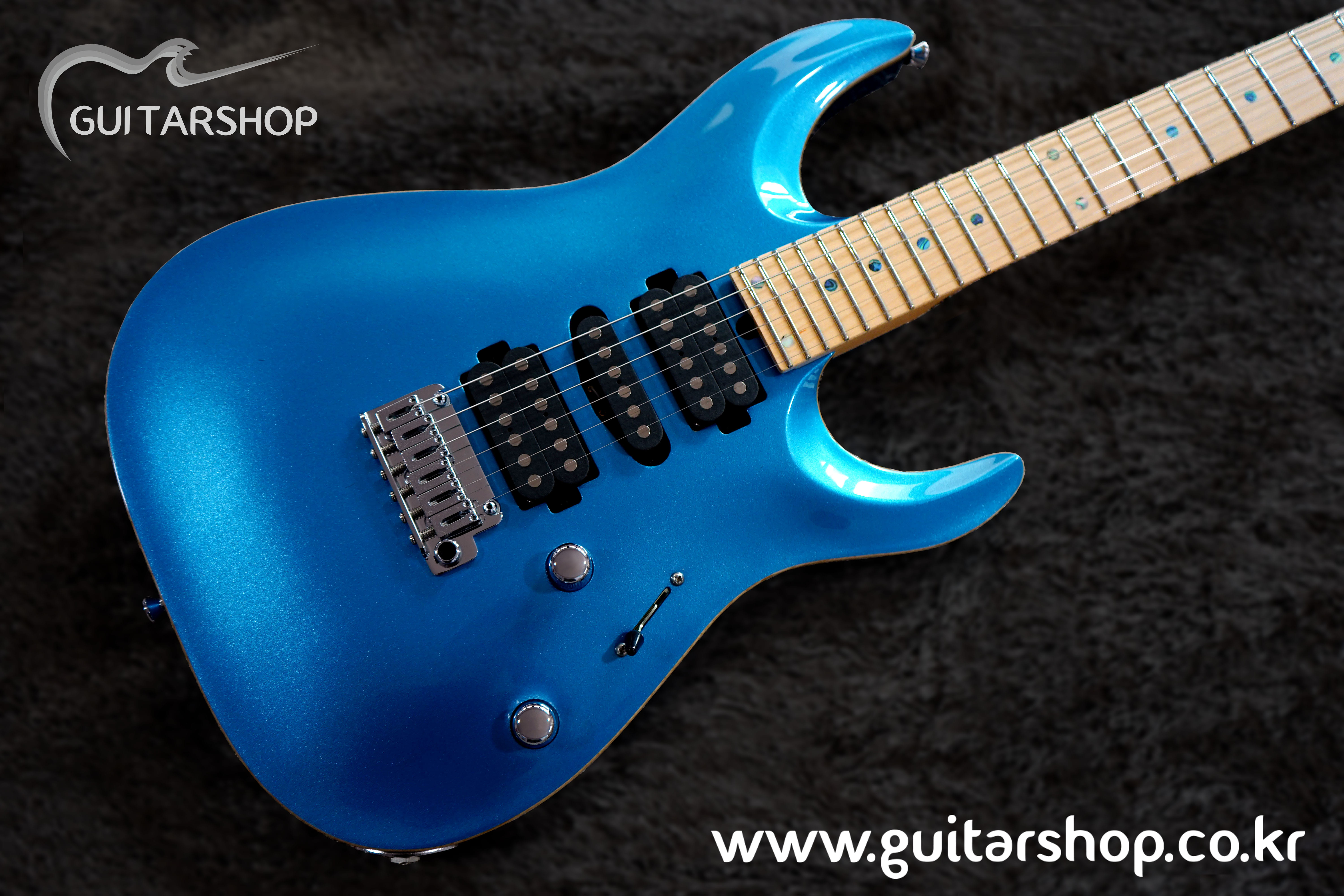 T's GUITAR DST-Prp24,Carved,Ash Model (Lake Placid Blue)